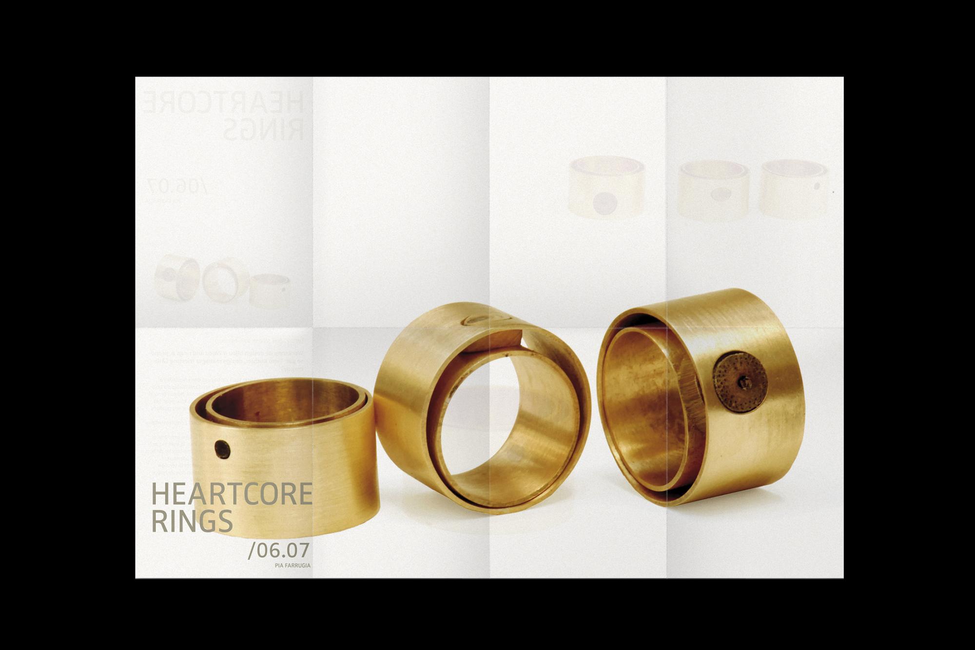 Graphisme Geneve graphic design graphique direction pia farrugia design bijou contemporain contemporary jewelry lookbook portfolio