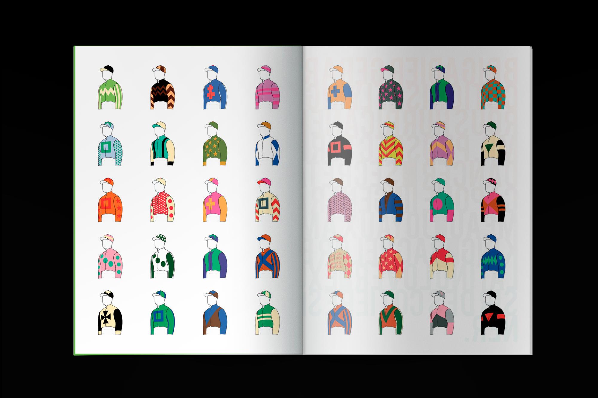 Graphisme Geneve graphic design graphique direction artistique layout mise en page livre book photographie chevaux courses