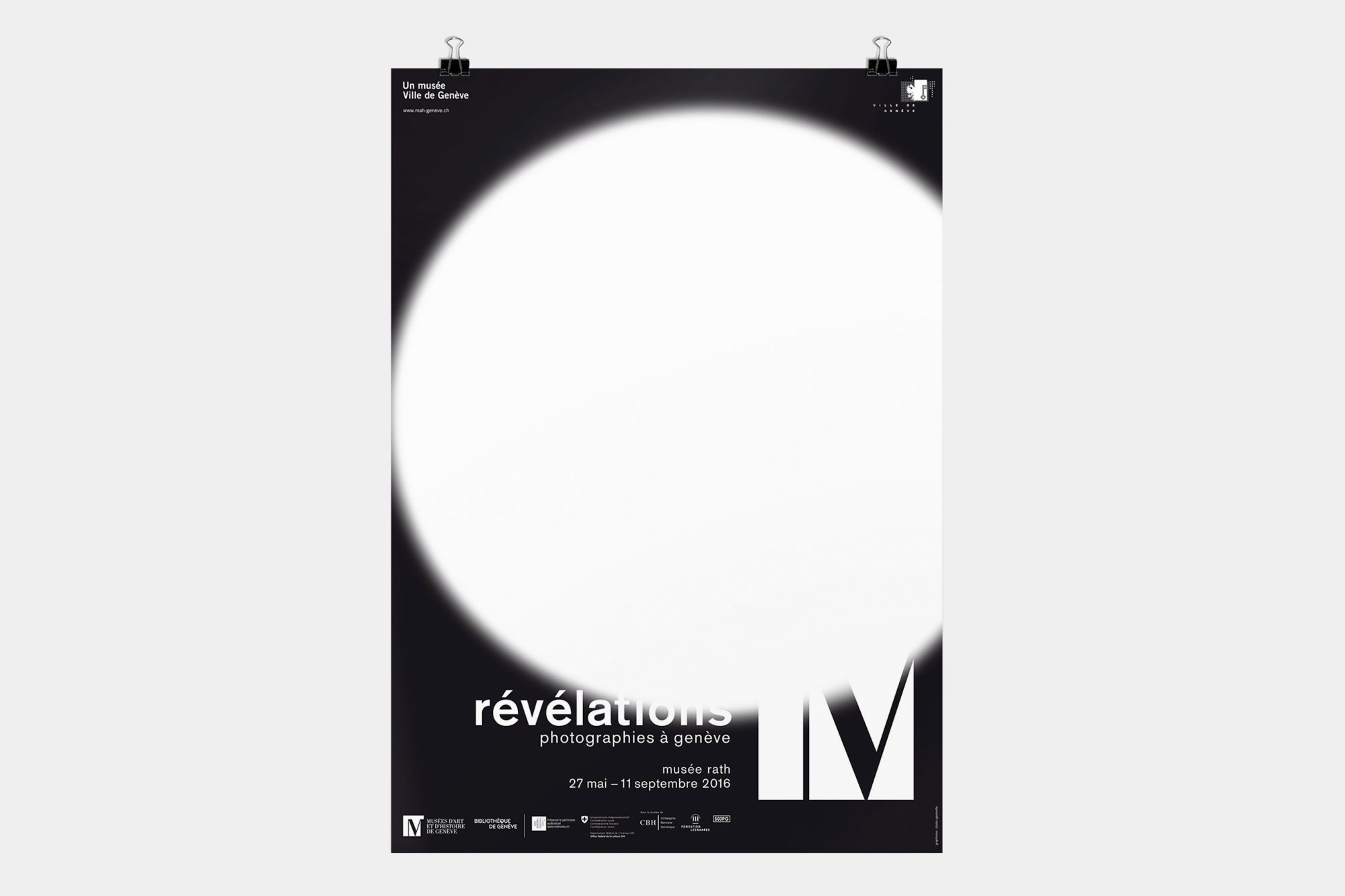 Graphisme Geneve graphic design graphique direction artistique mah exposition musee d'ethnographie 2016 musee rath revelations photographies serigraphie